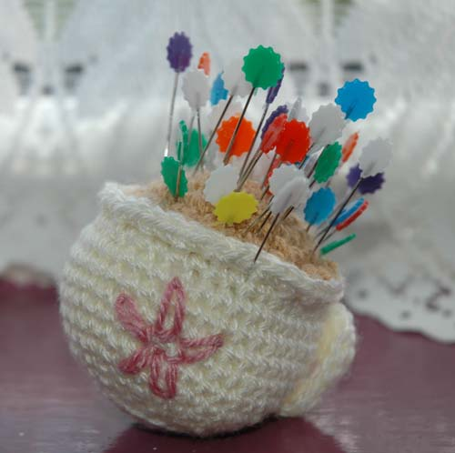 Tea Pin Cushion