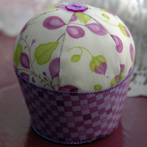 Cupcake Pin Cushion