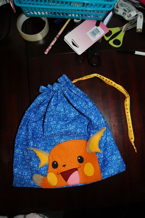 Raichu Bag Closed